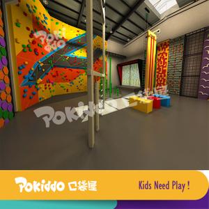 室内乐园游乐项目——抱石攀岩