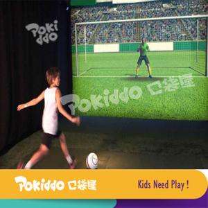 室内儿童乐园互动投影足球